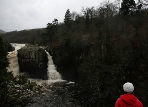 High Force, waterfal. waterfall,