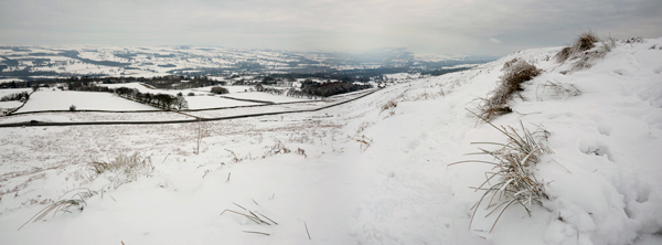 Ilkley Moor in the Snow