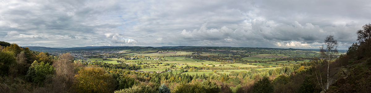 Panorama from the Chevin